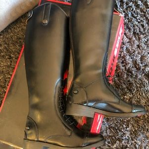 Black EquiStar all Weather Riding Boots